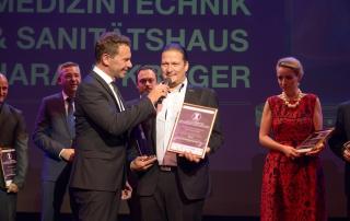 Gewinner der Kategorie Bestes Kundenbindungsprogramm: Medizintechnik & Sanitätshaus Harald Kröger GmbH