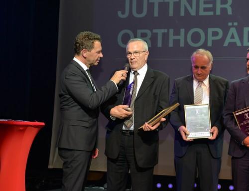 Gewinner der Kategorie Bester Internet-Auftritt 2016: Jüttner Orthopädie KG